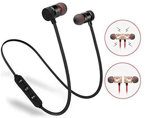 Lowfe Bluetooth Earphone Wireless Headphones Sports Stereo Music Jogger,Working, Gym Bluetooth Headset Compatible with All Smartphones Image 3