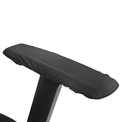 1 Paar Abnehmbare Armlehne Abdeckungen für Bürostuhl Elastische Universal-Kissen für Armlehnenschutz, Waschbar Stuhl Armlehne Pad Covers von Zerodis bei Gartenmöbel von Du und Dein Garten