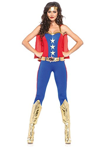 Leg Avenue Women's Costume Comic Book Hero Long