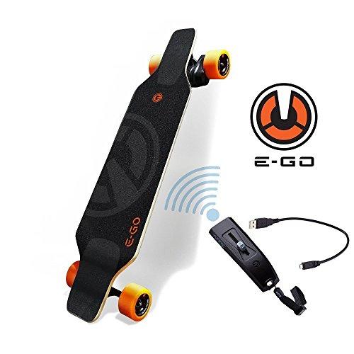 Yuneec Elektro-Skateboard E-GO Cruiser mit Tasche / Transporttasche -