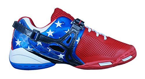 Babolat Propulse 3 Andy Roddick Stars and Stripes Tennis Hommes baskets/Chaussures red