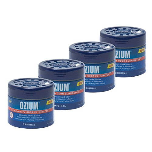 Ozium Smoke & Odors Eliminator Gel. Home, Office and Car Air Freshener...