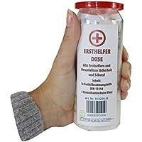 Preisvergleich für 1 x Erste Hilfe Set Notfallset in einer Dose wasserdicht wiederverschließbar (Ersthelfer Dose)