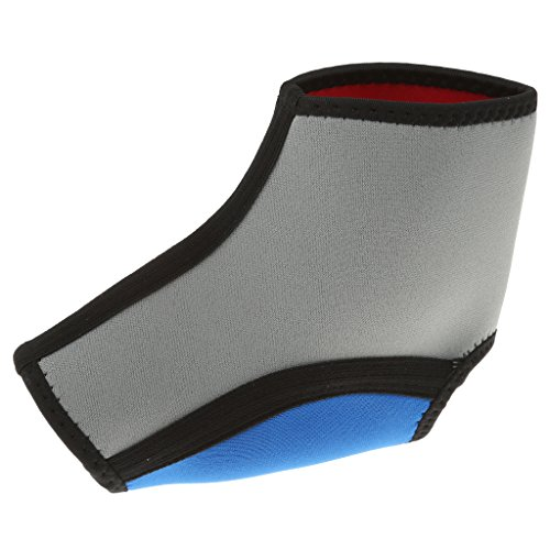 Generic 1pcs Ankle Brace Support Pad Guard Muay Thai Boxing Gym Sport Gear Size M/L - L  available at amazon for Rs.265