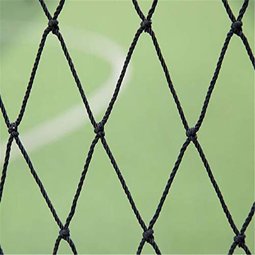 ZFH Heavy Duty Knotted Netting Foot Tragbare Pitching Screen Baseball Pitcher Schutz, 7 * 7 T Typ Baseball Rebound Net, Coach Protector Batting Practice -