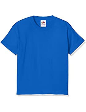 Fruit Of The Loom bambini unisex Valueweight t-shirt manica corta