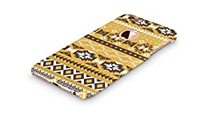 Cover Affair Aztec Printed Designer Slim Light Weight Back Cover Case for Apple iPhone 6