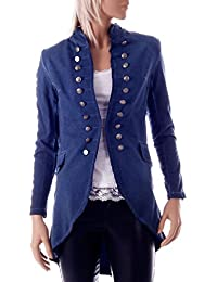 Long Blazer im stylischen Uniform Look
