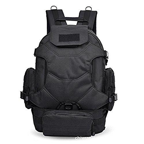 Mefly Die Männer Und Frauen Sporttaschen Große Kapazität Bergsteigen Taschen Tarnung Taschen Leisureblack black