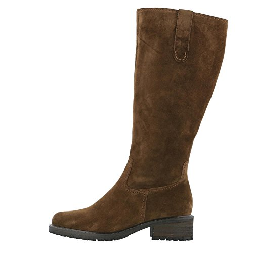 STUCCO 56.097 GABOR CHUNKY SUEDE LONG BOOT Brown