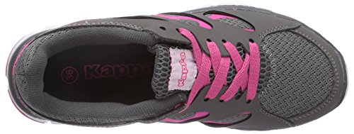 Kappa - Fox, Pantofole unisex grigio(Grau (1627 Grey/L`Pink))