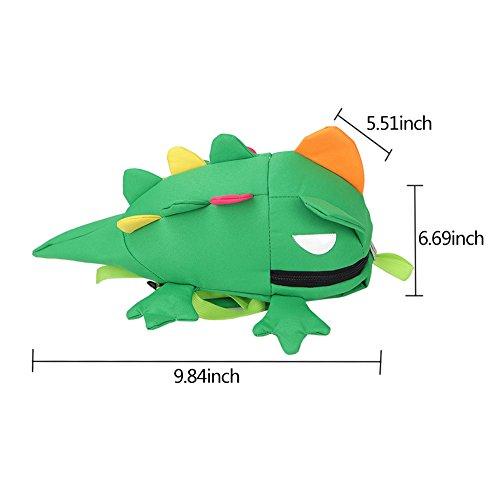 Samber Kinder Rucksack Niedlich Karikatur Kindergarten Tasche Schwarz12