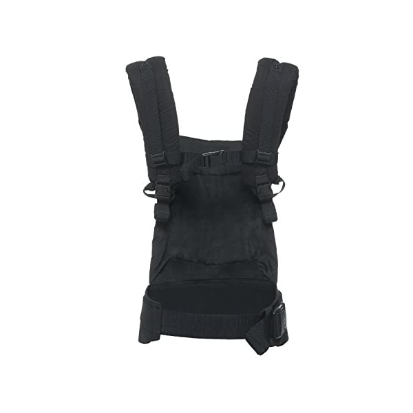 """Ergobaby Baby Carrier for Toddler Pure Black, Original 3-Position Child Carrier 5.5 to 20kg with Lumbar Support, Front Backpack Ergobaby Ergonomic babycarrier - ergonomic for baby with wide deep seat for a spread-squat, natural """"m"""" seated position. Baby carrying system with 3carry positions:  front-inward, hip and back. from baby to toddler: 5.5*-20kg Maximum wearing comfort - lumbar support waist belt (adjustable from 66-140cm / 26-52in) that can be adjusted to the height of the carry position. 2"""