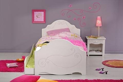 PARISOT Kinderbett mit Zubehör, weiss
