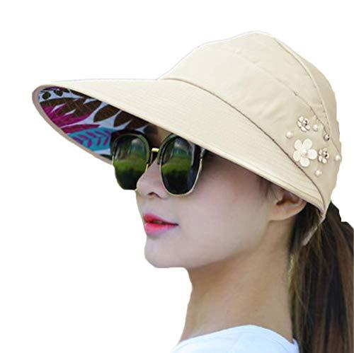 Hosaire Sombrero para el Sol de Mujer Moda Ondas de la Playa Estilo Nuevo 9de276fcbf6