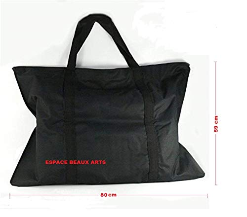 ESPACE BEAUX ARTS Sac à Dessin Nylon 59x80cm pour...