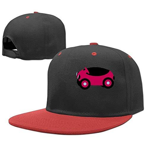 uykjuykj Baseball Caps Hip Hop Hats Cartn Red Car Boy-Girl Adjustable Unique Personality Cap Baseballmütze -