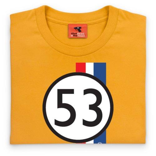 PistonHeads Herbie T-Shirt, Herren Gelb