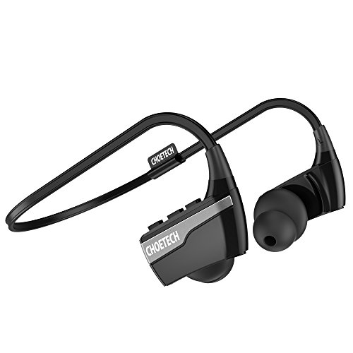 Auriculares Bluetooth 4,1 CHOETECH Auriculares Inalámbricos Audifonos Deportivos con Micrófono para Correr Cascos Deportivos de Manos Libre para iPhone, Samsung, HTC y otras instalaciones Bluetooth