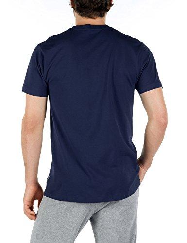 Calida T-Shirt Remix Basic, T-shirt da uomo blu (Blau  (dark blue 449))