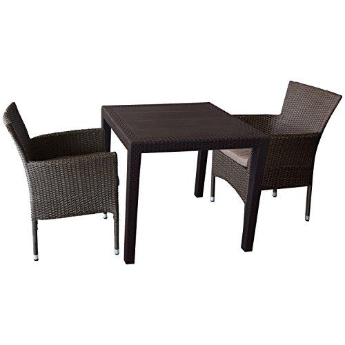 Mokka Rattan Gartenmöbel Set Online Kaufen Möbel Suchmaschine