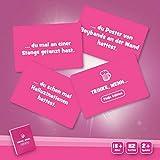 Spielehelden Trinke, wenn.. Pinke Edition - Trinkspiel für deinen Mädelsabend - Tolles Partyspiel und lustige Frauen - Das Must-Have Party Zubehör für tolle Gespräche als Wichtelgeschenke - 2