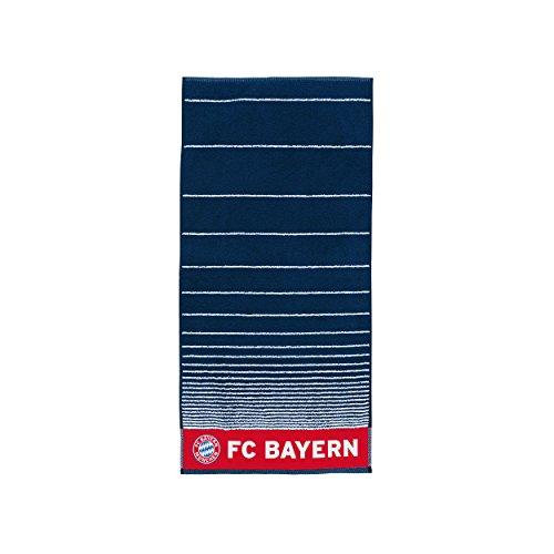 FC Bayern MÜNCHEN +gratis Sticker, Munich, Bath Towel / Handtuch / Badetuch / toalla de baño / Serviette de bain / Shower (Navy Servietten)