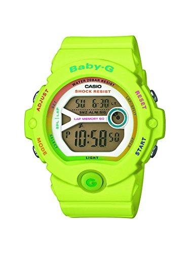 Casio Baby-G Damen-Armbanduhr BG-6903-3ER, grün (Neon Grün)