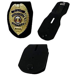 Badge Belt Clip by ASR Federal