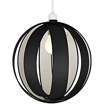 Modern black fabric cocoon globe style ceiling pendant light shade modern black fabric cocoon globe style ceiling pendant light shade mozeypictures Image collections