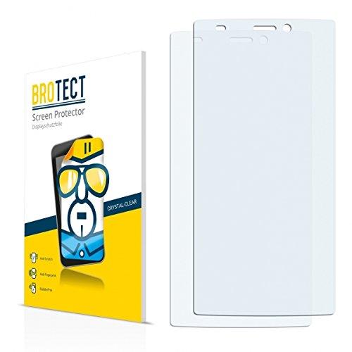 2X BROTECT HD Clear Bildschirmschutz Schutzfolie für Gionee Elife S5.5 (kristallklar, extrem Kratzfest, schmutzabweisend)