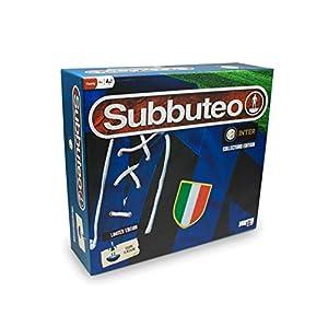 Giochi Preziosi Subbuteo Inter Playset - Alfombra de Juegos Retro con 2 Puertas, balón y 22 Jugadores