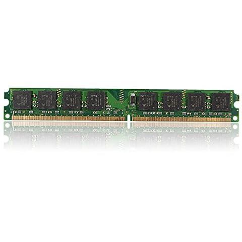 Tutoy 1GB PC2-6400U DDR2 240Pins 800MHz PC De Bureau Mémoire DIMM SdRAM RAM