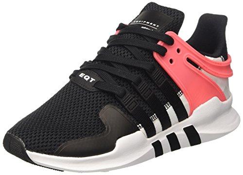 adidas Herren EQT Support ADV Sneakers, Schwarz cblack/Turbo, 44 EU