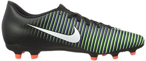Nike 831969-014, Chaussures de Football Homme Noir (Black/white-paramount Blue-electric Green-hyper Orange)