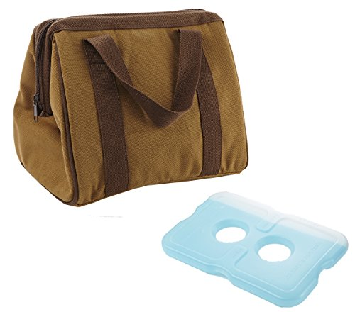 fit-fresh-mens-big-phil-insulated-lunch-bag-with-ice-pack-brown-by-fit-fresh