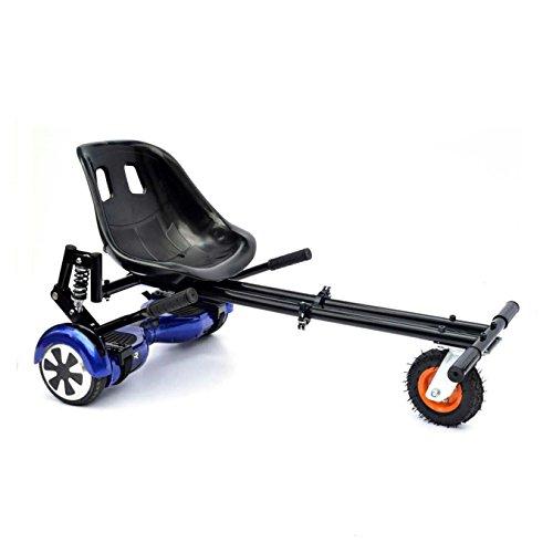 Preisvergleich Produktbild GadgetFinder Carbon schwarz Monster hoverkart Unterbrechung Racing Seat GoKart für Segway Balance Board Scooter