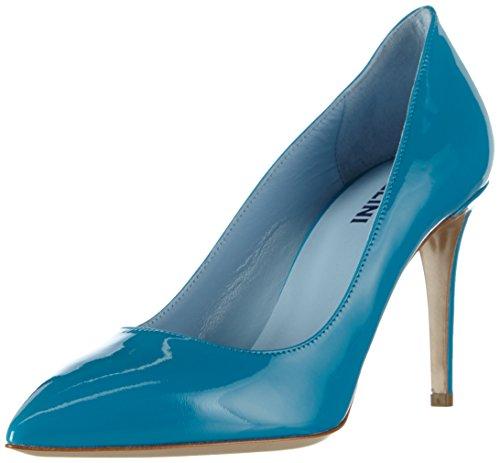 Pollini - Scarpad.princess85 Vernice Turchese, Scarpe col tacco Donna Blau (702 TURQUOISE PATENT)