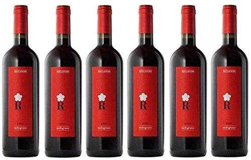 KIT 6 Bottiglie di Vino Rosso Umbria IGT 75CL IL MELOGRANO Cantina Roccafiore