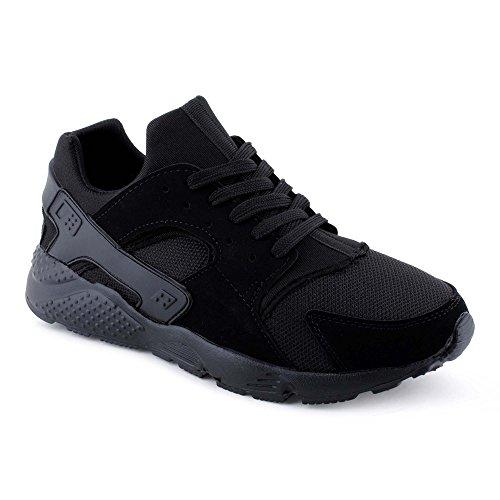 herren-sneaker-sportschuhe-schnur-lauf-freizeit-netz-fitness-low-top-schuhe-schwarz-schwarz-eu-43