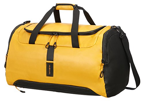 Samsonite Paradiver Light Duffle, Giallo (Yellow), M (61cm-84L)