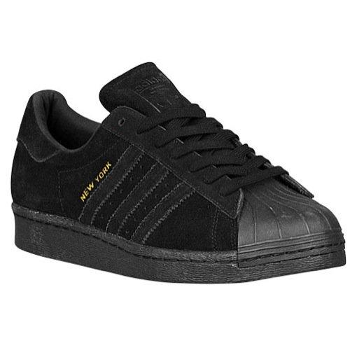 adidas Superstar 80s City Series New York Men's Shoes Core Black b32737 (12 D(M) US)