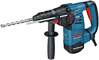 Bosch Professional GBH 3-28 DFR, 800 W Nennaufnahmeleistung, 3,1 J Schlagenergie, 4 - 28 mm Bohr-Ø, Schnellspannbohrfutter, Koffer, SDS-plus-Wechselfutter