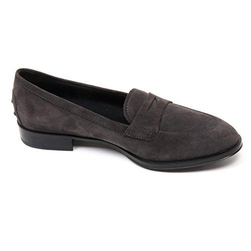 C3106 mocassino donna TOD'S scarpa grigio scuro loafer shoe woman Grigio scuro