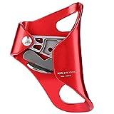 Chest Ascender - Kletter Croll Brust Ascender Abseilen Getriebe Ausrüstung Seilklemme for 8-13mm Seil (Farbe : Red)