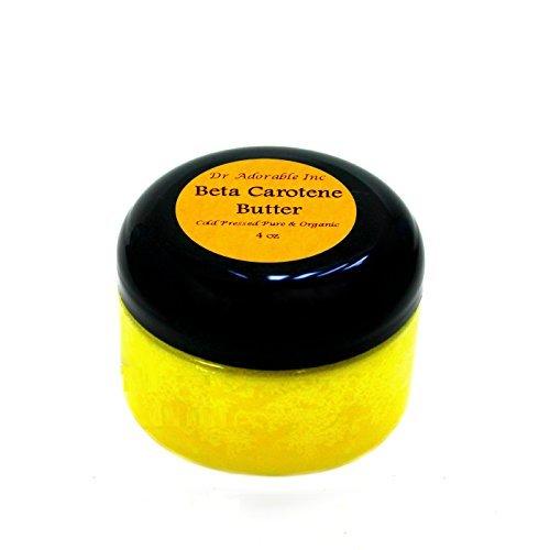 Beta Carotene Butter Cold Pressed Pure & Organic 4 Oz