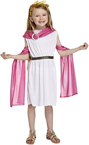 Kostüm Göttin Römische Kind - Mädchen griechisch / römischen Göttin Kostüm Alter 10-11