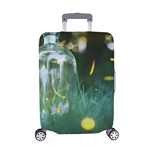 Viele Glühwürmchen, die in den Vorderteilen fliegen Muster Spandex-Trolley-Koffer Reisegepäck-Schutzkoffer-Abdeckung 28,5 X 20,5 Zoll -