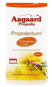 Aagaard - Propolentum + echinacéa + zinc - 30 pastilles - Gorge protégée