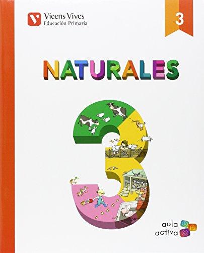NATURALES 3 AUTO+ ASTURIAS SEPARATA (AULA ACTIVA): Naturales 3. L. Alumno Y Separata Asturias. Aula Activa: 000002 - 9788468238395